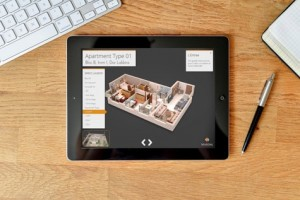 Interactive 360° FlyAround App Apartment Overview - 3D Modeling, Visualization and Interactive Apps - Copyright Mardal S.A.R.L.
