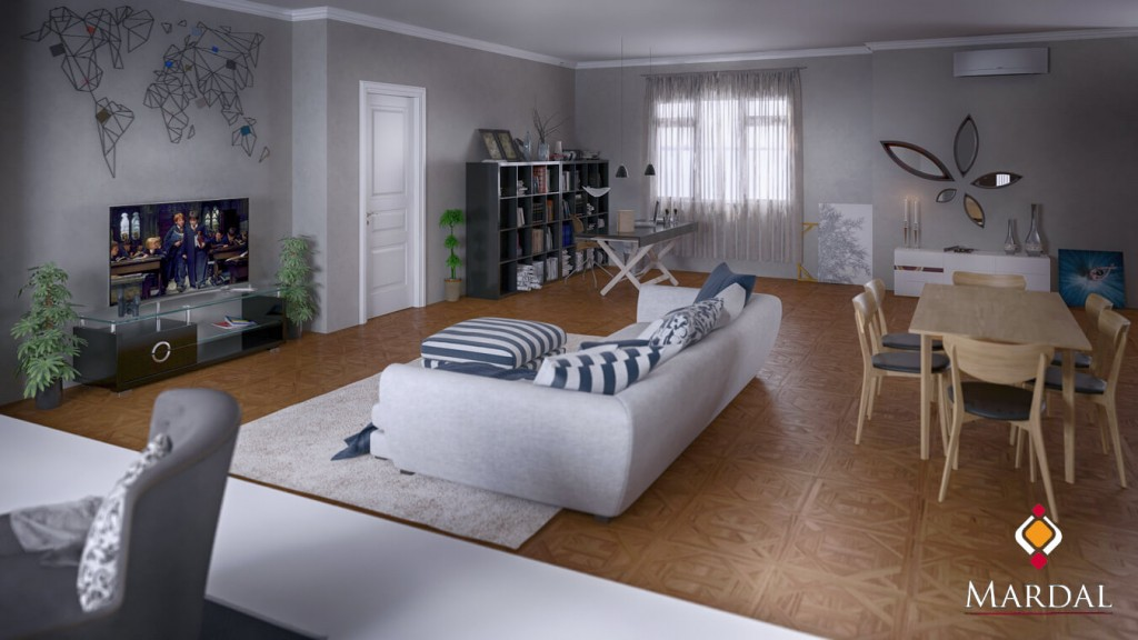 Salon / Mardal 3D Modeling