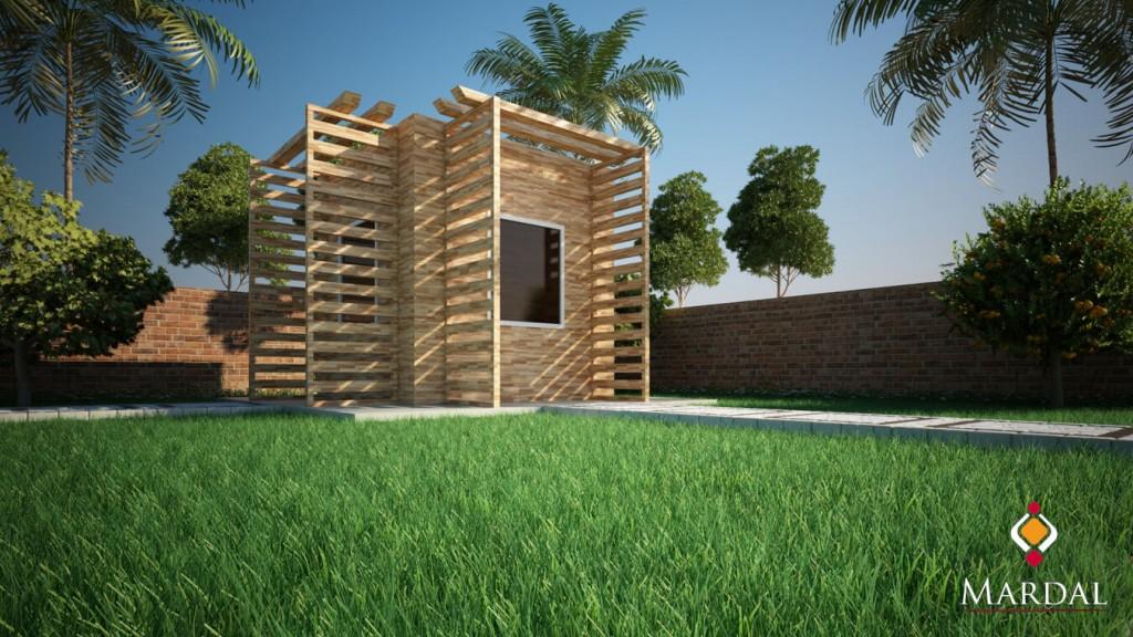 Garden / Mardal 3D Modeling