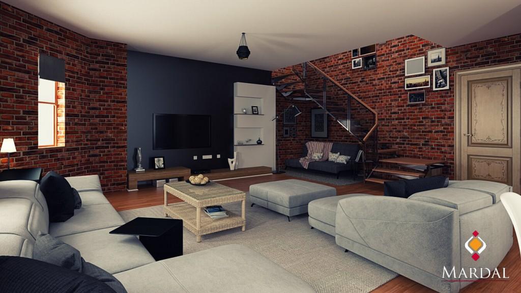 Salon Modern / Mardal 3D Modeling